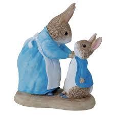 beatrix potter rabbit beatrix potter mrs rabbit rabbit figurine beatrix potter