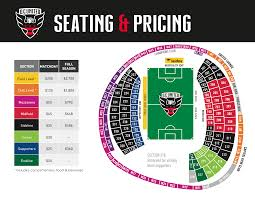 Arrowhead Stadium Map Dc United Interactive Seating Chart American Airlines Arena