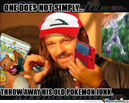 One Does Not Simply Meme Picture - one does not simply throw away his childhood by borntobefeatured