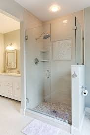 Small Bathroom Designs With Shower Stall Walk In Shower With Seat Tile Ideas For Stalls Gray Home Depot