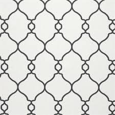 black and white lattice wallpaper