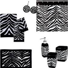Leopard Bathroom Set Walmart Image Detail For Zebra Bathroom Accessories Ideas Zebra