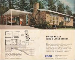 small style home plans 38 best mid century floor plans images on vintage house
