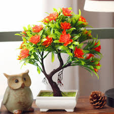 imitation plants home decoration aliexpress com buy artificial plants bonsai for home decoration