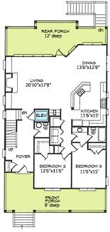 house plan for narrow lot narrow lot house plan 15035nc architectural designs