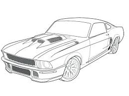 coloring pages cars coloring pages print car