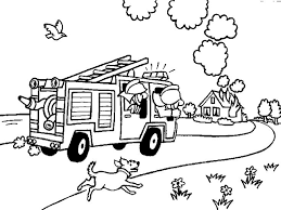28 kids firefighter coloring pages images