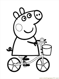 peppa pig 2 coloring free pig coloring pages