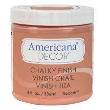 DecoArt Americana Decor 8 oz Smitten Chalky Finish ADC08 45 The