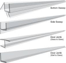 Plastic Strips For Shower Doors It S Easy To Clean The Glass Shower Door Plastic With Regard
