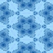 blue kaleidoscope wallpaper seamless decorative blue kaleidoscope fractal wallpaper stock photo
