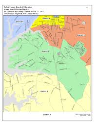 Bart Extension Map by Election Districts Map Talbot County Md