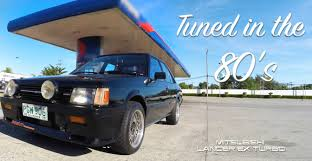 mitsubishi black old mitsubishi 1983 lancer ex turbo