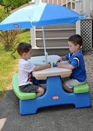 little tikes picnic table umbrella home table decoration