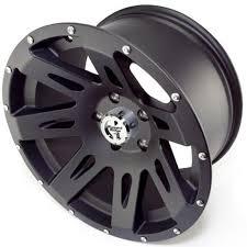 ridge xhd aluminum wheel satin black 17
