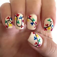 mickeys very merry christmas party nail art design https www