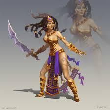 amazon warrior artstation amazon warrior pavel goloviy