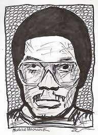 comic pen ink illustration sketch drawing jazz funk icon herbie