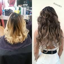 transformation date night hair career modern salon