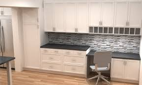 exellent desk in kitchen design ideas homeowner has views of yard