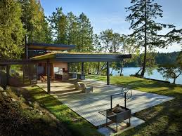 Glamorous San Juan Islands Waterfront House 1 Idesignarch Interior Waterfront House Plans In Beautiful Columbia