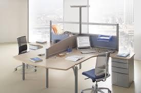 bureau 2 personnes mobilier call center au sein d un open space bureaux aménagements