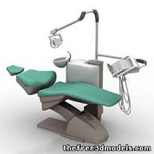 Vintage Dentist Chair Dental Chair 3d Model 3ds Sldprt