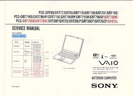 sony vaio pcg 8x2l laptop manual