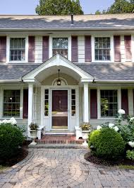 front porches on colonial homes i m recently obsessed with porticos the lattice on the sides