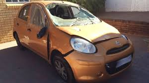 nissan micra active india latest car accident of nissan micra in india road crash