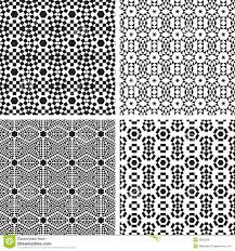 geometric ornaments pattern set stock image image 32565291