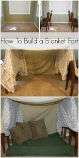 How To Build A Tent How To Build A Blanket Fort Blanket Forts Forts And Blanket