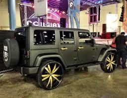 gold jeep wrangler ace hood s black on gold jeep wrangler celebrity cars blog