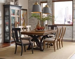 Thomas Kincaid Bedroom Furniture Kincaid Furniture Stone Ridge Five Piece Dining Set With Round