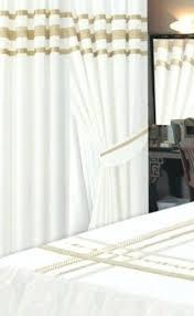 Gold And White Curtains Gold And White Curtains Teawing Co