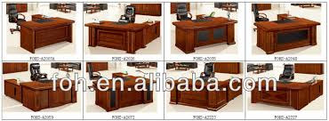 Luxury Exclusive Office Furniture Office Desk Fohk Buy - Luxury office furniture