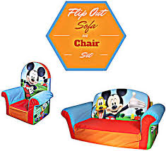 Toddler Sofa Chair by Toddler Sofa Chair Set Flip Out Lounger Child Brother Mickey Bed