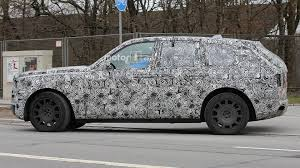 rolls royce suv rolls royce cullinan suv caught testing in europe