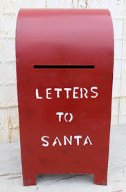 letters to santa mailbox metal mailbox letters to santa lawn decor