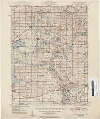 Michigan State Campus Map Historical Topographic Maps Perry Castañeda Map Collection Ut