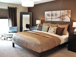 bed taupe color bedroom