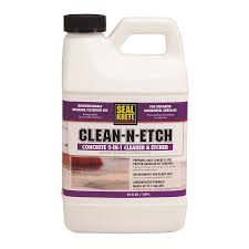 shop seal krete clean n etch concrete stain at lowes com