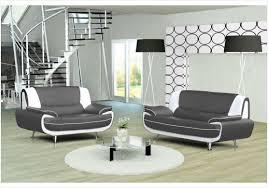canapé design noir et blanc canape noir et blanc cuir cheap cool comforium