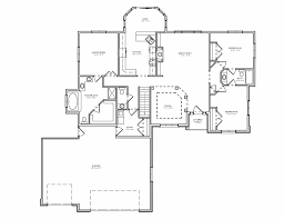 split floor plan house plans bedroom house plans 3 bedroom ranch