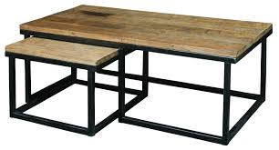 iron and wood coffee table custom made barn wood cast iron pipe