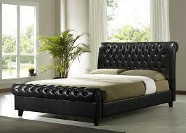 bedroom tufted sleigh bed king size bed frames ikea bedroom sets