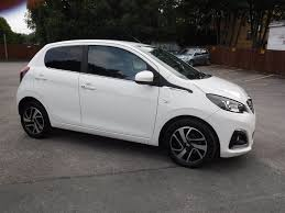 peugeot 108 used cars used white peugeot 108 for sale west yorkshire