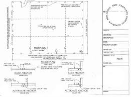 Car Port Plans Building Plans 1 866 943 2264