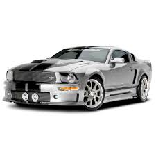 Black 2005 Mustang Cervini 9027 Mustang Body Kit C Series Convertible 2005 2009