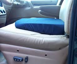 amazon com seat wedge cushion 15x14 in blue washable cover beauty